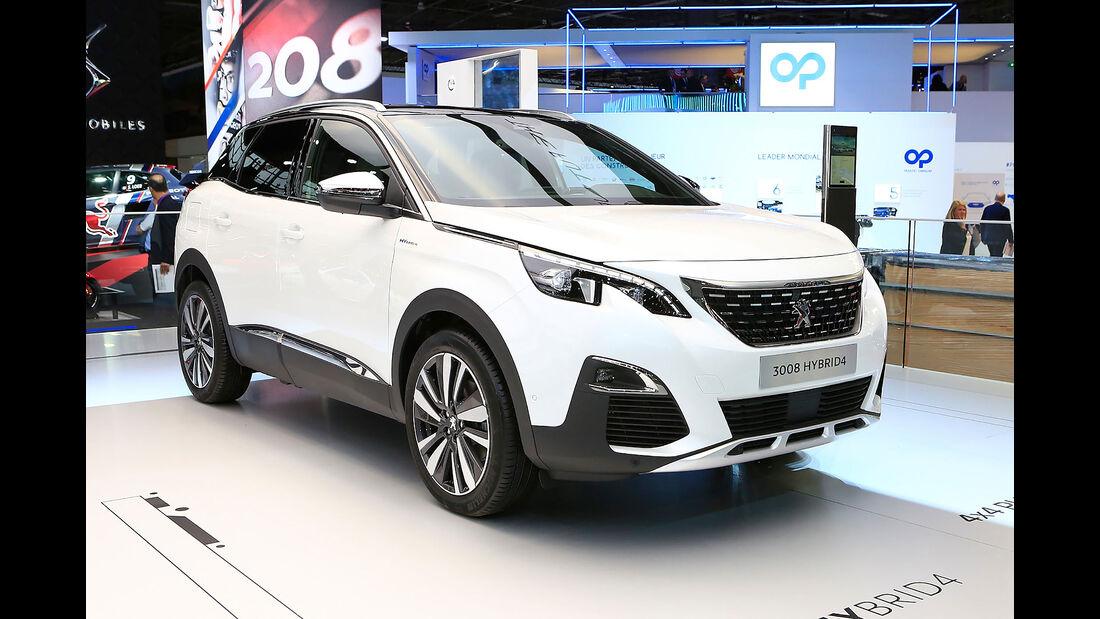 10/2018, Peugeot 3008 Hybrid4