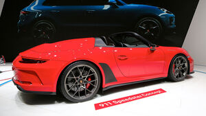 10/2018, Porsche 911 Speedster Concept auf dem Autosalon Paris 2018