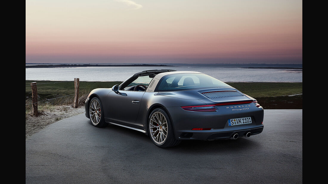 10/2018, Porsche 911 Targa 4 GTS Exclusive Manufaktur Edition