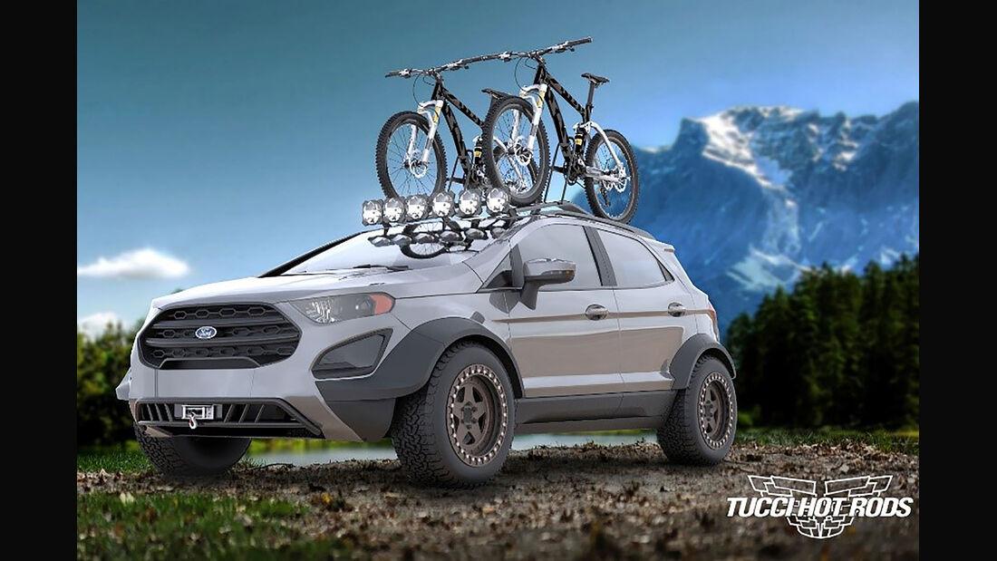 10/2018, Tucci Designs Ford Ecosport auf der SEMA Show 2018