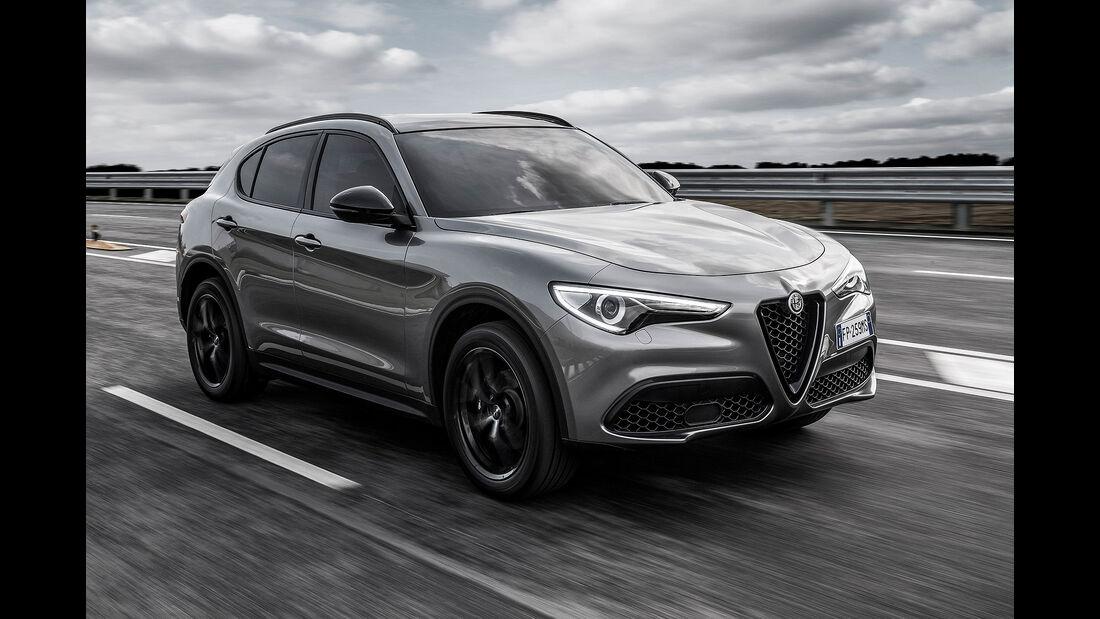10/2019; Alfa Romeo Stelvio Modelljahr 2019