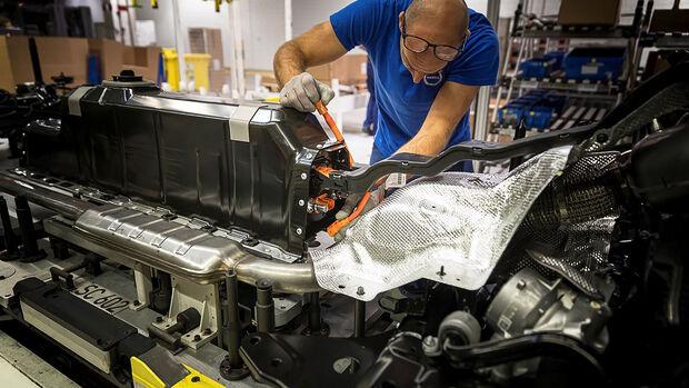10/2019, Autoproduktion bei Volvo