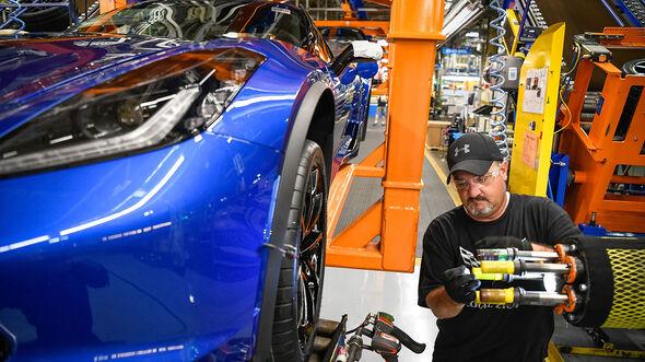 10/2019, Chevrolet Corvette C7 Produktion Bowling Green