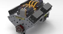 10/2019, Elektromotor in V8-Form von Electric GT
