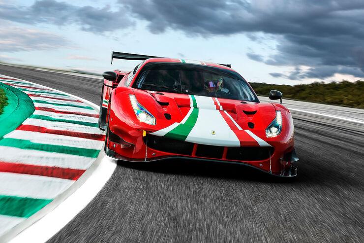Ferrari 488 Gt3 Evo 2020 Verbesserter Kundensport Renner Auto Motor Und Sport