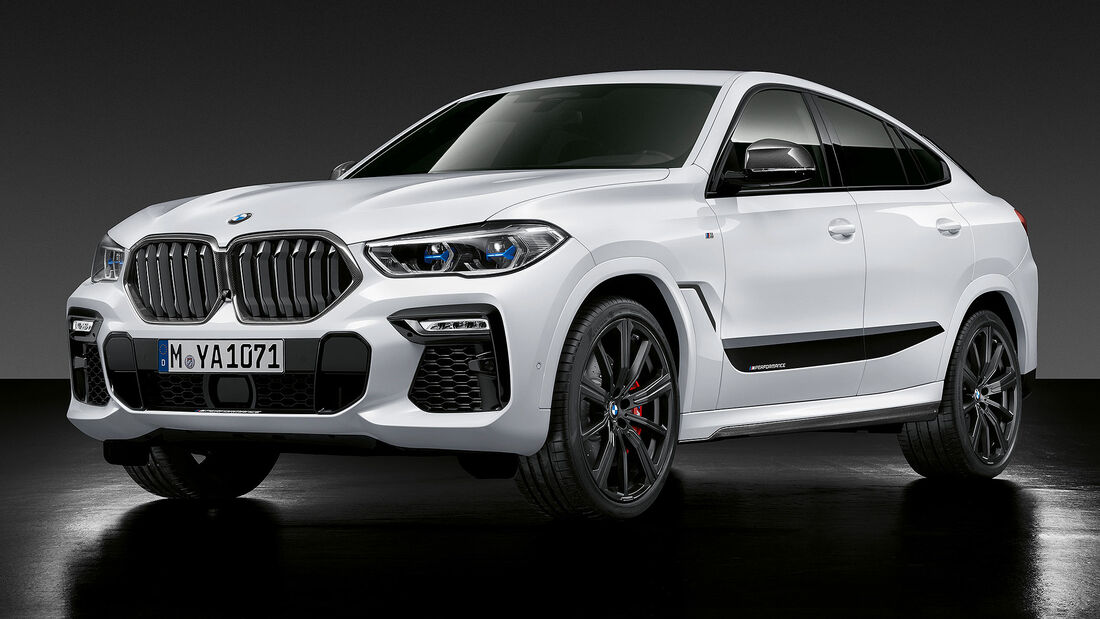 10/2019, M Performance Parts für den BMW X6
