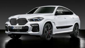 10/2019, M Performance Parts für den BMW X6