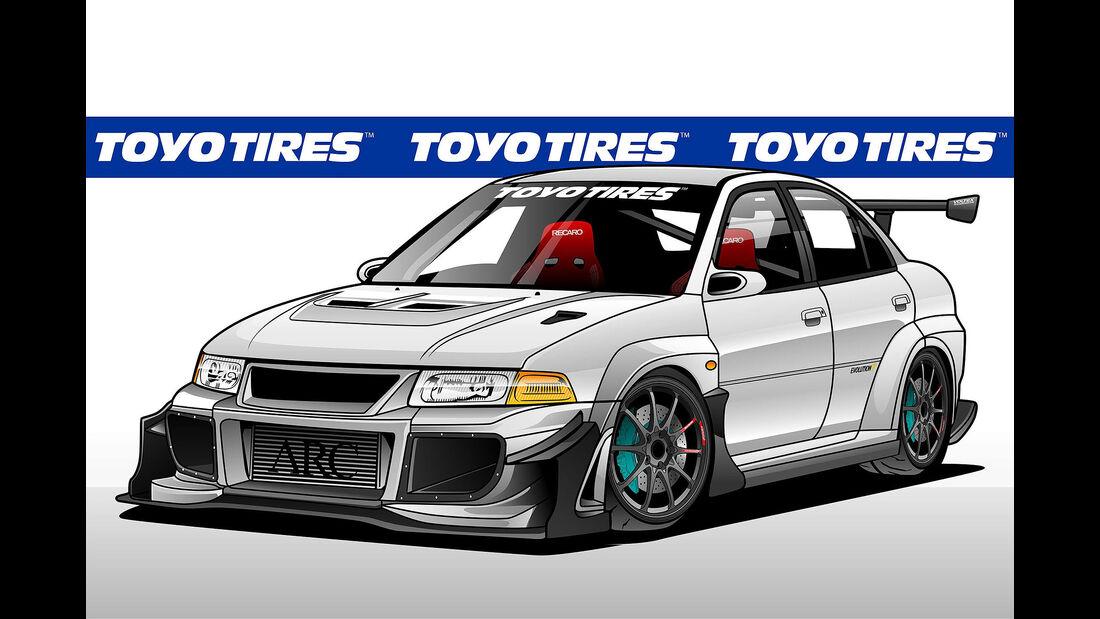 10/2019, Toyo Tires auf der SEMA 2019
