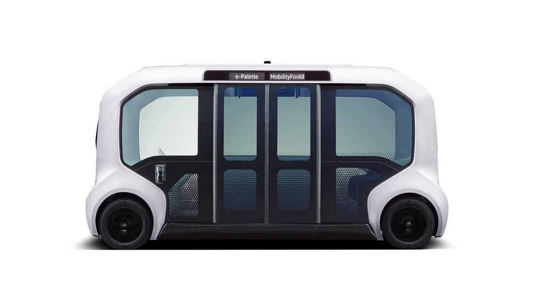 10/2019, Toyota e-Palette 2019