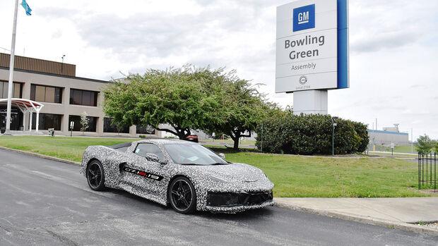 10/2020, Chevrolet Corvette C8 Bowling Green