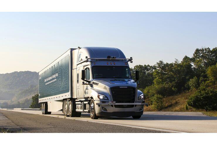 Autonom fahrende Lkw in den USA: Daimler Trucks kooperiert mit Waymo
