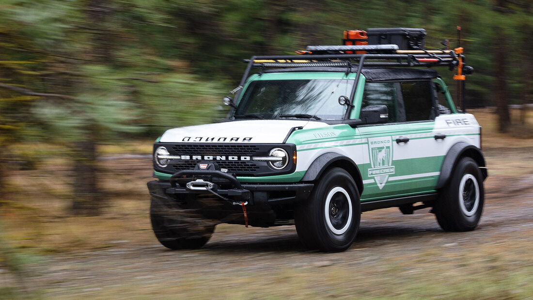 10/2020, Ford Bronco + Filson Wildland Fire Rig Concept