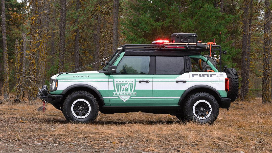 10/2020, Ford Bronco + Filson Wildland Fire Rig Concept