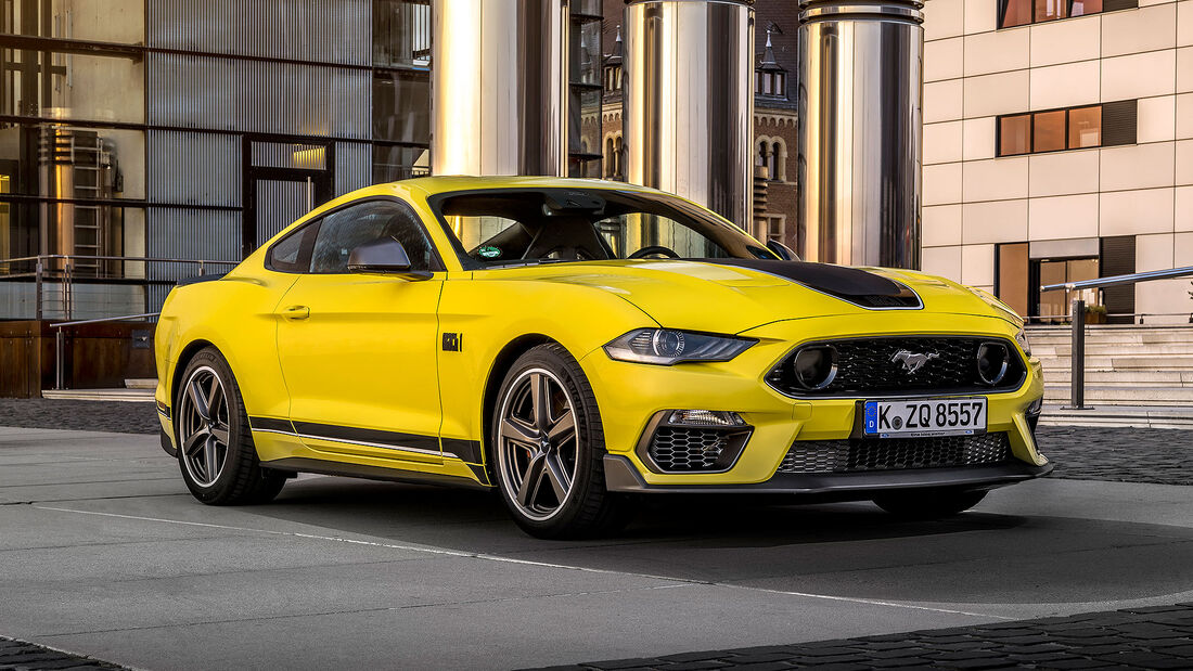 10/2020, Ford Mustang Mach1 Europa-Version