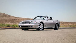 10/2020, Mercedes SL 500 Silver Arrow R129