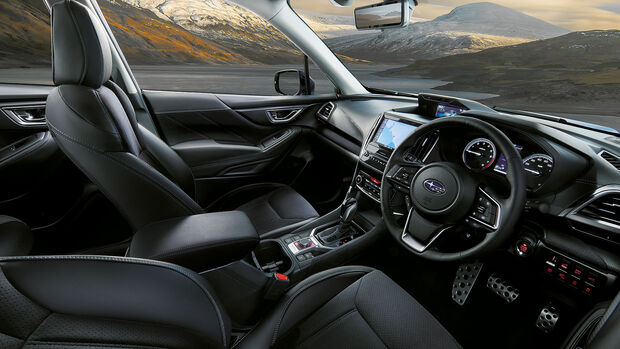 10/2020, Subaru Forester Sport für Japan