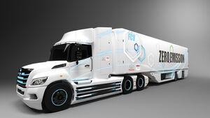 10/2020, Toyota Hino Brennstoffzellen Lkw USA