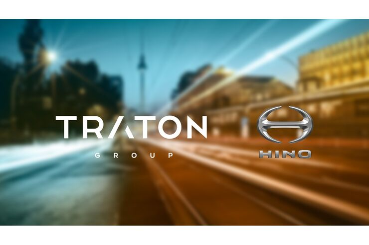 VW-Tochter Traton kooperiert mit Hino: Joint Venture entwickelt Elektro-Lkw
