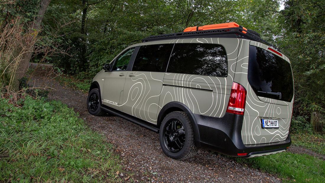 10/2020, Vansports Mercedes V 300 d Gravity Geotrek-Edition