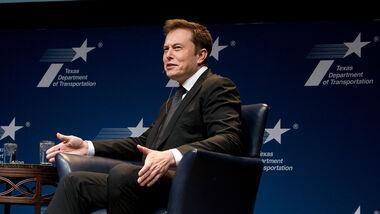10/2021, Elon Musk beim Texas Transportation Forum in Austin 2015