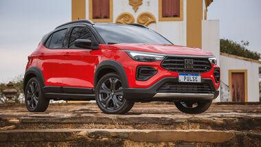 10/2021, Fiat Pulse Kompakt-SUV Brasilien