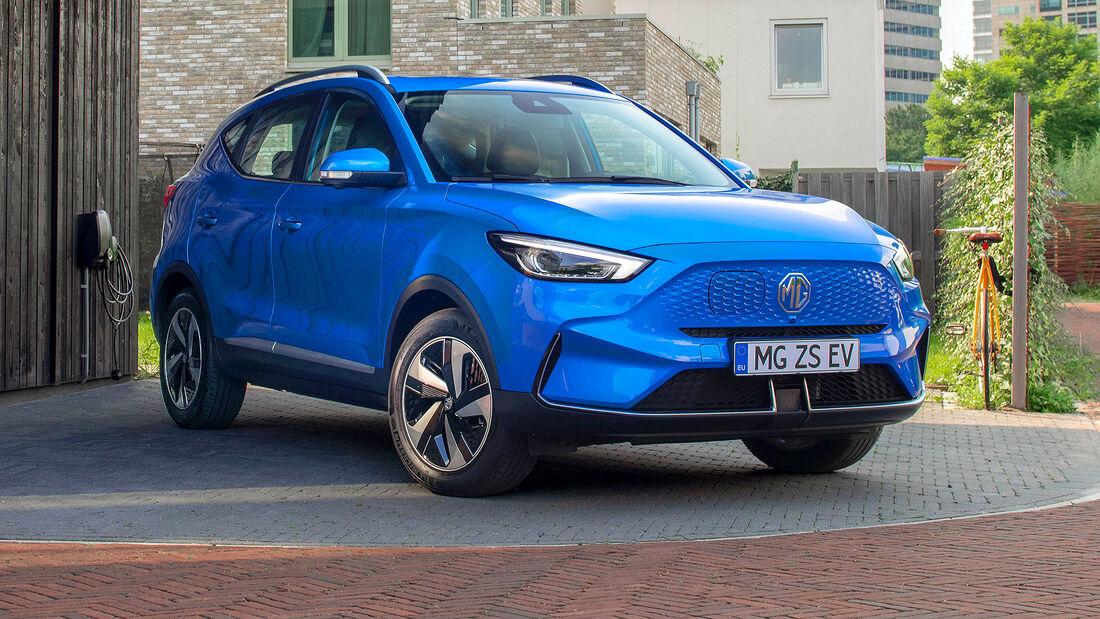10/2021, MG ZS EV Facelift Modelljahr 2022