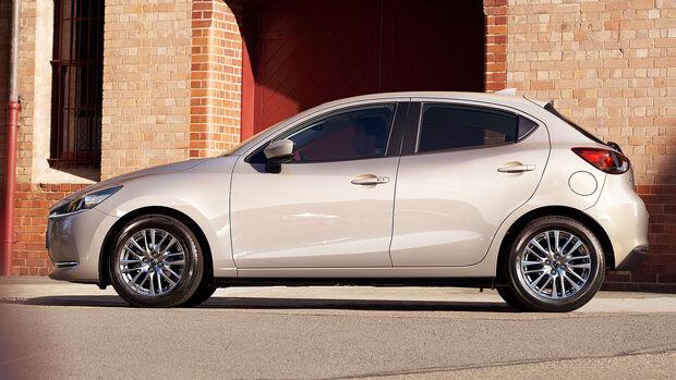 10/2021, Mazda 2 Modellpflege Modelljahr 2022