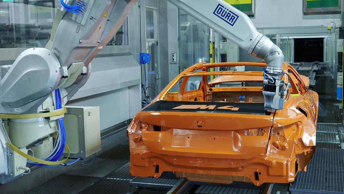 10/2021_Neues Lackverfahren BMW  M4