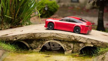 10/2021, Toyota Mirai als RC Car Maßstab 1:10 mit Brennstoffzelle