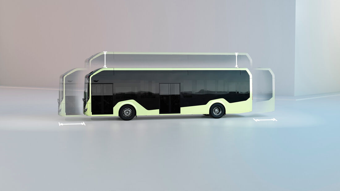 10/2021, Volvo Bus BZL Electric Chassis