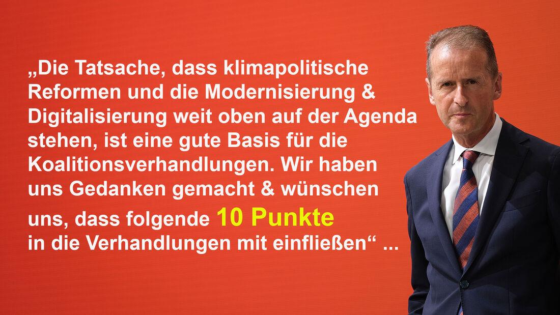 10 Thesen Koalitionsverhandlungen Herbert Diess