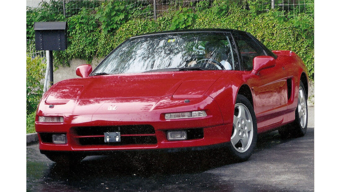 100: Honda NSX Sportwagen, 3 Liter, V6, 274 PS, 1991