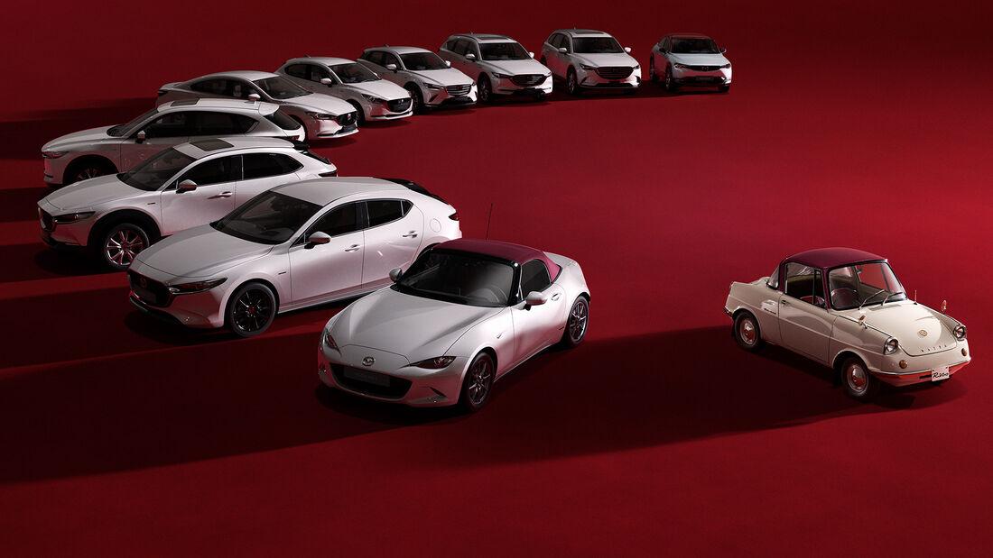 100 Jahre Mazda Jubiläum Sondermodelle 2020 MX-5