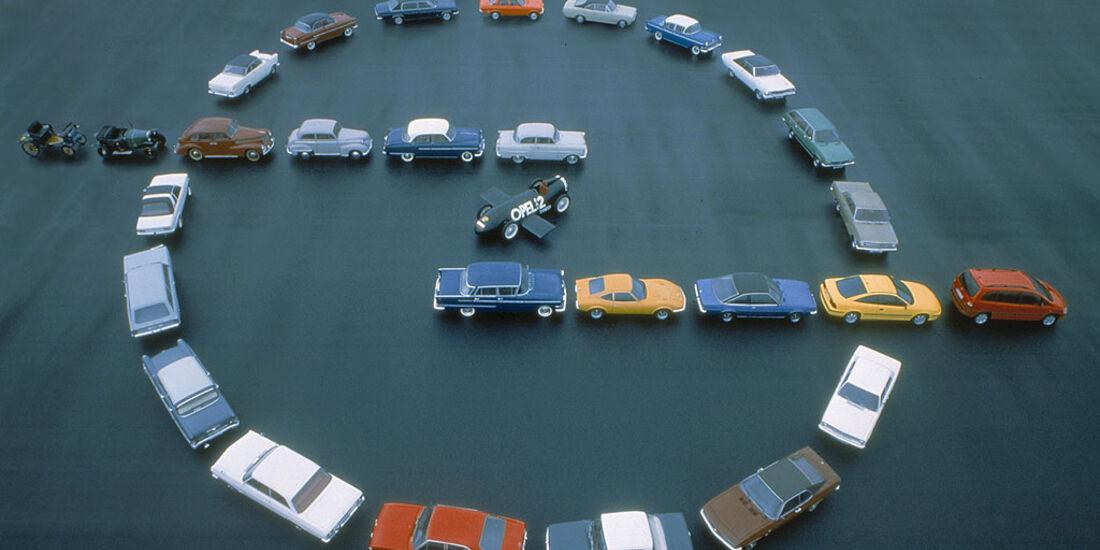 100 Jahre Opel Automobile, 1999