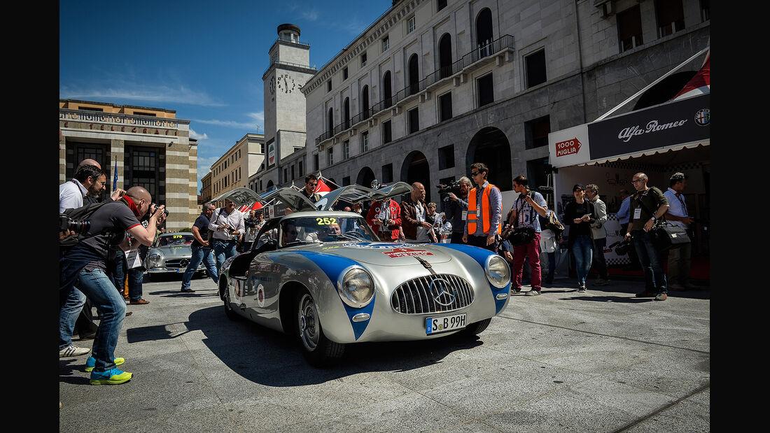 1000 Miglia 2014, Mercedes-Benz 300 SL W194