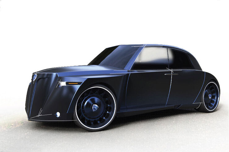 11/2012, Lancia Aprilia 75 Designstudie