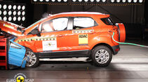 11/2013, EuroNCAP-Crashtest, Ford Ecosport