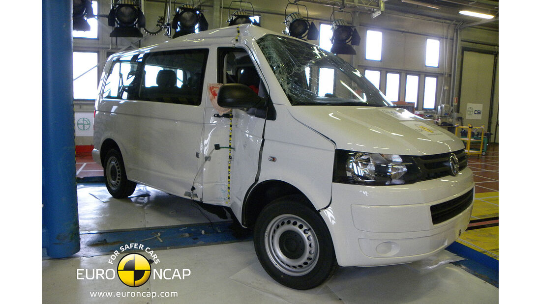 11/2013, EuroNCAP-Crashtest, VW T5
