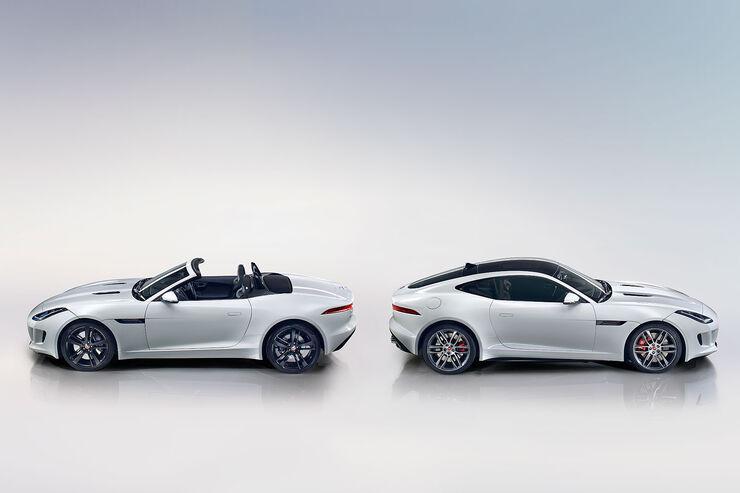 11/2013 Jaguar F-Type Coupé, Sperrfrist 4.30 Uhr