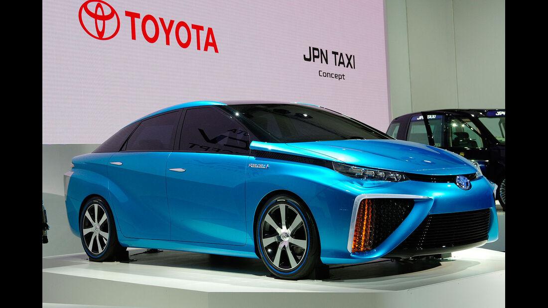 11/2013, Toyota Tokio Motor Show 2013 Toyota FCV Brennstoffzelle