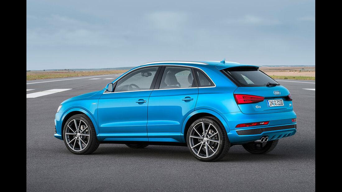 11/2014, Audi Q3 Facelift