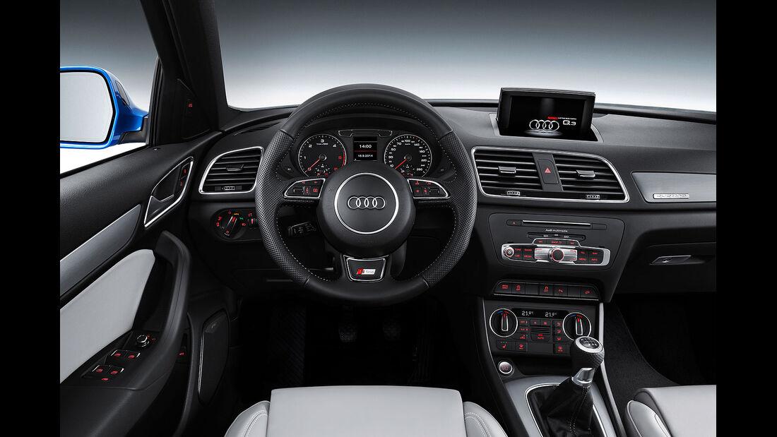 11/2014, Audi Q3 Facelift, Innenraum