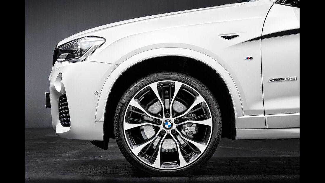 11/2014, BMW X4 Coupé M Performance Parts