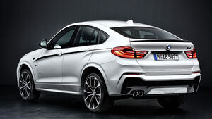 11/2014, BMW X4 Coupé M Performance Parts
