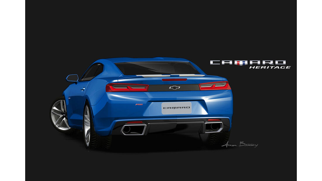 11/2015 Chevrolet auf der Sema 2015 Camaro Hyper
