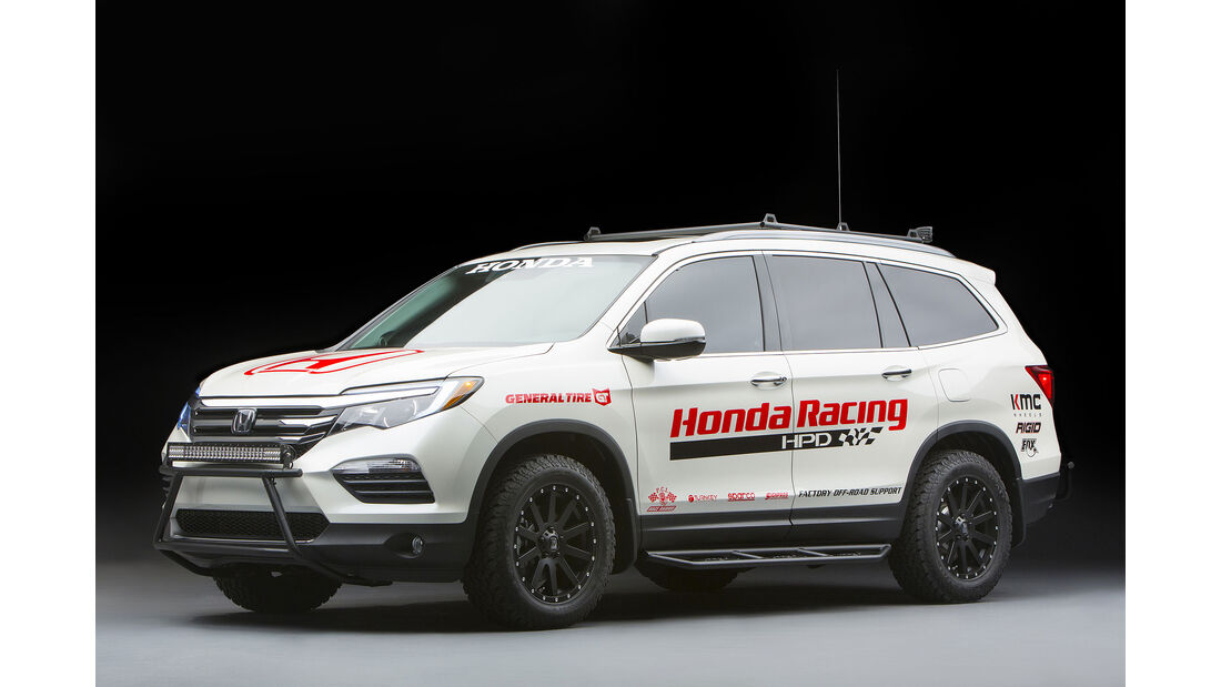 11/2015 Honda auf der Sema 2015 Honda Pilot Baja Pre-Runner