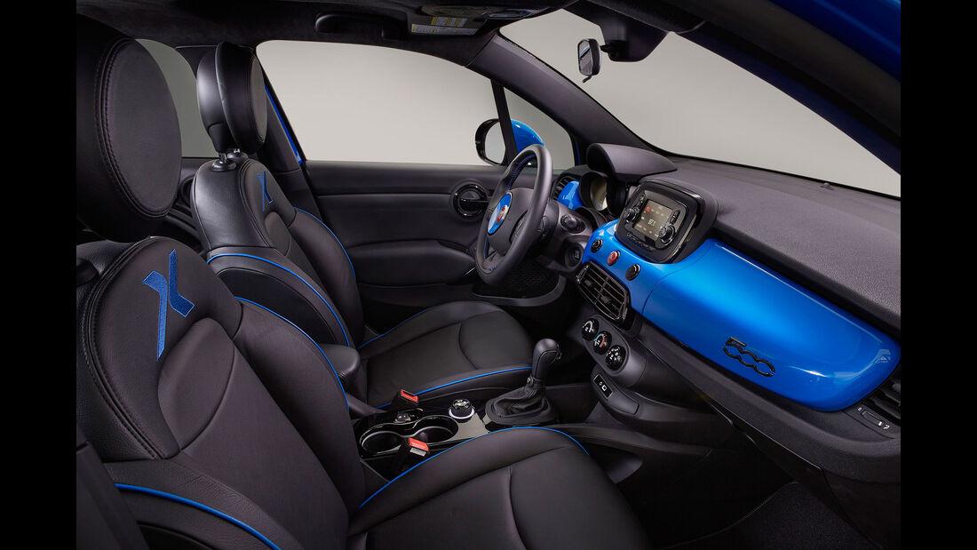 11/2015 Mopar auf der Sema Fiat 500 X Chicane