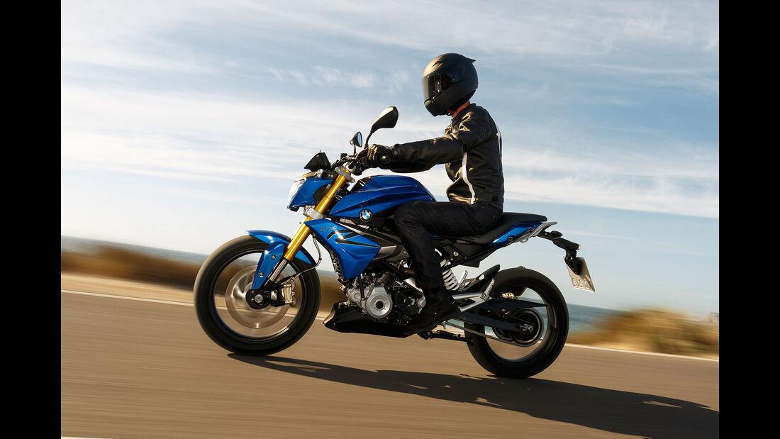 11/2015 Motorrad BMW G310 R