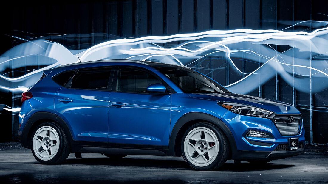 11/2015 Sema 2015 Hyundai Tucson Bisimoto