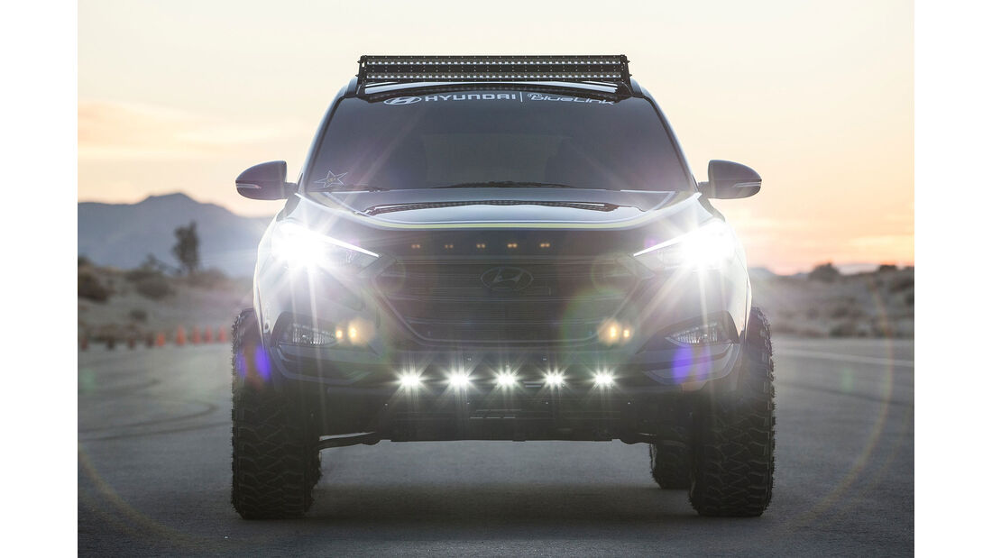 11/2015 Sema 2015 Hyundai Tucson RPG